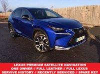2014 LEXUS NX 2.5 300H F SPORT 5d AUTO 153 BHP £21985.00