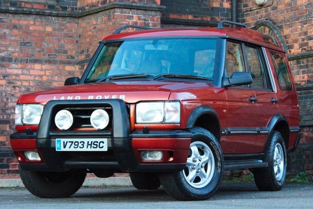1999 V LAND ROVER DISCOVERY 2.5 TD5 GS 5dr (5 Seats)