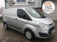 2014 FORD TRANSIT CUSTOM TREND SWB 125 BHP WITH RARE TAIL GATE AIR CON CRUISE B/TOOTH £9995.00