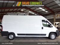 USED 2011 61 PEUGEOT BOXER 2.2 335 L3H2 LWB SHR 120 BHP-ONE OWNER-LOW MILEAGE ' YOU'RE IN SAFE HANDS '    WITH THE AA DEALER PROMISE