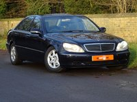 USED 2002 02 MERCEDES-BENZ S CLASS 3.2 S320 4dr FSH HEATED SEATS 2 OWNERS