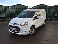 USED 2014 64 FORD TRANSIT CONNECT 1.6 200 LIMITED P/V 1d 114 BHP BODYKIT ALLOYS ONE OWNER FSH NO FINANCE REPAYMENTS FOR 2 MONTHS STC. (COMMERCIAL £8900+1780VAT). CRUISE CONTROL. 16 INCH ALLOYS. COLOUR CODED TRIMS. PRIVACY GLASS. BLUETOOTH PREP. CLIMATE CONTROL. R/CD PLAYER. MFSW. 3 SEATER. MOT 11/18. ONE OWNER FROM NEW. FULL SERVICE HISTORY. FCA FINANCE APPROVED DEALER. TEL 01937 849492.