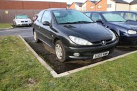 USED 2003 03 PEUGEOT 206 1.4 LX 3d 74 BHP CLEARANCE AS IS . NOT AVAILABLE ON FINANCE.