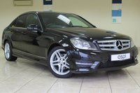 2013 MERCEDES-BENZ C CLASS 1.6 C180 BLUEEFFICIENCY AMG SPORT 4d AUTO 154 BHP £12925.00
