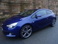 2014 VAUXHALL ASTRA 1.4 GTC LIMITED EDITION S/S 3d 118 BHP £10000.00