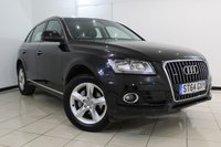 USED 2014 64 AUDI Q5 2.0 TDI QUATTRO SE 5DR AUTOMATIC 175 BHP SERVICE HISTORY + LEATHER SEATS + PARKING SENSOR + BLUETOOTH + CRUISE CONTROL + MULTI FUNCTION WHEEL + CLIMATE CONTROL + 18 INCH ALLOY WHEELS