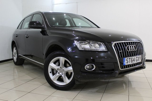 View our 2014 64 AUDI Q5 2.0 TDI QUATTRO SE 5DR AUTOMATIC 175 BHP