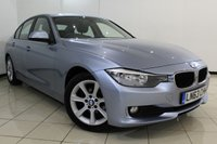 USED 2014 63 BMW 3 SERIES 2.0 316D ES 4DR AUTOMATIC 114 BHP BMW SERVICE HISTORY + 0% FINANCE AVAILABLE T&C'S APPLY + HEATED SEATS + BLUETOOTH + PARKING SENSOR + CRUISE CONTROL + 17 INCH ALLOY WHEELS
