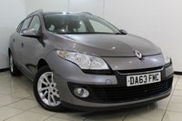 USED 2013 63 RENAULT MEGANE 1.5 EXPRESSION PLUS ENERGY DCI S/S 5DR 110 BHP SERVICE HISTORY + BLUETOOTH + AIR CONDITIONING + AUXILIARY PORT + RADIO/CD + 16 INCH ALLOY WHEELS