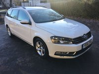 USED 2011 61 VOLKSWAGEN PASSAT 1.6 S TDI BLUEMOTION TECHNOLOGY 4d 104 BHP **Drives Superb**