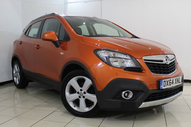 View our 2014 64 VAUXHALL MOKKA 1.7 TECH LINE CDTI S/S 5DR 128 BHP