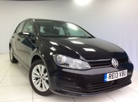 2013 VOLKSWAGEN GOLF 2.0 SE TDI BLUEMOTION TECHNOLOGY 5d 148 BHP £7500.00