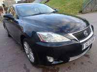 USED 2011 11 LEXUS IS 2.2 220D SE-I 4d 175 BHP FULL SERVICE RECORD ++  NAVIGATION  SYSTEM++    LEATHER TRIM ++  PARKING SENSORS ++  1 PREVIOUS KEEPER ++