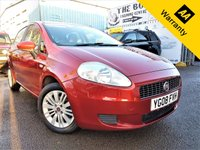 USED 2008 08 FIAT GRANDE PUNTO 1.4 ELEGANZA 5d 77 BHP! p/x welcome! 2 F/KEEPERS! BLUETOOTH! AUX+USB PORTS! AIR-CON! PARKING AID! CHEAP INSURANCE! FULL SRVC HISTORY! GENUINE LOW MILES! NEW MOT! 2 F/KEEPERS+46K MILES+BLUETOOTH+AIR-CON+AUX&USB PORT+PARKING AID+FULL S-HIST! CHEAP INSURANCE+NEW MOT!