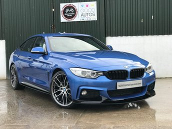 2015 BMW 4 SERIES 2.0 420D M SPORT GRAN COUPE 4d AUTO 188 BHP £21900.00