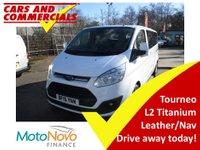 2015 FORD TOURNEO CUSTOM 300 L2 (LWB) Titanium 125ps 9-seats (Leather & Sat Nav) £15995.00