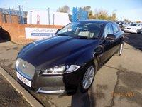 2012 JAGUAR XF 2.2 D LUXURY 4d AUTO 190 BHP £13495.00