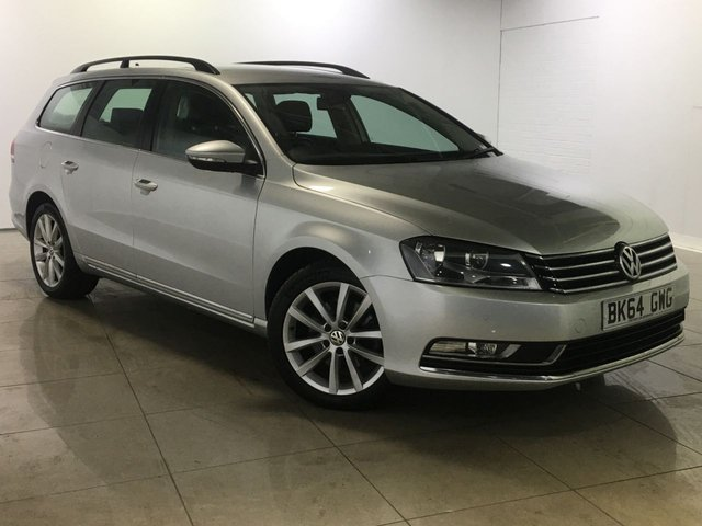 View our 2014 64 VOLKSWAGEN PASSAT 1.6 EXECUTIVE TDI BLUEMOTION TECHNOLOGY 5d 104 BHP