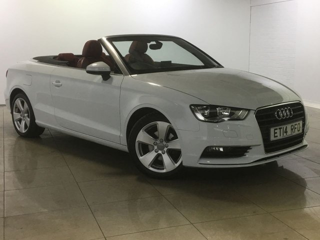View our 2014 14 AUDI A3 2.0 TDI SPORT 2d 148 BHP