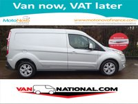 2015 FORD TRANSIT CONNECT 1.6 TDCI 240 LIMITED L2 115BHP (ONE OWNER LOW MILEAGE) £12699.00