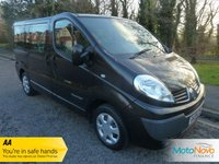 USED 2008 08 RENAULT TRAFIC 2.0 SL27 STANDARD DCI 5d AUTO 115 BHP Fantastic Value Automatic Renault Traffic Minibus with Nine Seats, Air Conditioning and Metallic Paint.