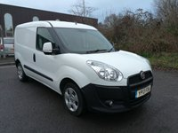 USED 2013 13 FIAT DOBLO 1.2 16V SX MULTIJET 1d 90 BHP ONE OWNER FULL SERVICE HISTORY
