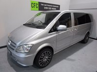 USED 2012 61 MERCEDES-BENZ VITO 2.1 113 CDI BLUEEFFICIENCY 1d 136 BHP 1 FORMER KEEPER FULL SERVICE HISTORY COLOUR CODED AIR CON ELECTRIC WINDOWS SOUND PROOFED AND INSULATED LED LIGHTING 6 SEATS REAR WINDOWS BRAND NEW 20 INC ALLOYS AND TYRES  Please Call Now on 0151525 4400 / 07809 168 262