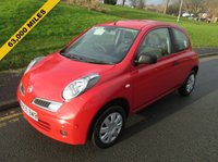 USED 2009 59 NISSAN MICRA 1.2 VISIA 3d 80 BHP 63,000 GUARANTEED MILES - 1 LADY OWNER FROM NEW -  AUX SOCKET