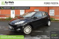 USED 2012 61 FORD FIESTA 1.4 EDGE TDCI 5d 69 BHP £20 ROAD TAX, 12 MONTHS MOT