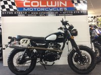 USED 2018 18 SINNIS Scrambler 125 SINNIS SCRABLER EFI 125CC BRAND NEW & IN STOCK NOW!!!