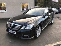 2010 MERCEDES-BENZ E CLASS 3.0 E350 CDI BLUEEFFICIENCY SPORT 5d AUTO 231 BHP £10995.00