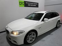 USED 2012 BMW 5 SERIES 2.0 520D M SPORT TOURING 5d AUTO 181 BHP BUY FOR ONLY £56 A WEEK *FINANCE* £0 DEPOSIT AVAILABLE