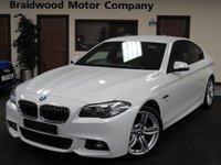 2013 BMW 5 SERIES 2.0 520D M SPORT 4d AUTO 181 BHP £14975.00