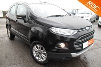 USED 2014 14 FORD ECOSPORT 1.5 TITANIUM TDCI 5d 88 BHP FANTASTIC SPECIFICATION WITH GREAT ECONOMY.