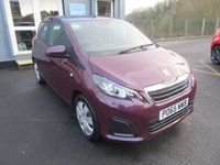 USED 2015 65 PEUGEOT 108 1.0 ACTIVE 5d 68 BHP Perfect 1st Car.  £0 Road tax. Finance available.