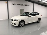 USED 2011 61 BMW X1 2.0 XDRIVE18D M SPORT 5d 141 BHP HEATED LEATHER, PARK ASSIST