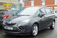 2014 VAUXHALL ZAFIRA 1.4 EXCLUSIV 5dr 138ps (New model) £9595.00
