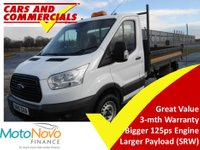 USED 2015 15 FORD TRANSIT TIPPER 350 L2 RWD SRW 125ps (Steel Body)