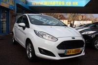 USED 2013 62 FORD FIESTA 1.25 ZETEC 5dr 81 BHP 0 DEPOSIT FINANCE AVAILABLE | SUPERB RATES