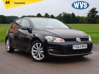 2013 VOLKSWAGEN GOLF 2.0 GT TDI BLUEMOTION TECHNOLOGY 5d 148 BHP £9499.00