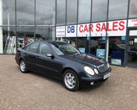 USED 2004 04 MERCEDES-BENZ E CLASS 1.8 E200 KOMPRESSOR CLASSIC 4d 163 BHP £0 DEPOSIT, LOW RATE FINANCE ANYONE, DRIVE AWAY TODAY!!