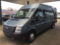 2012 FORD TRANSIT 2.2 430 SHR BUS 17 STR 1d 134 BHP +VAT £9495.00