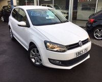 USED 2013 63 VOLKSWAGEN POLO 1.2 MATCH EDITION TDI 5d 74 BHP