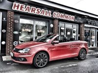 2011 VOLKSWAGEN EOS 2.0 SPORT TDI BLUEMOTION TECHNOLOGY 2d 139 BHP £5995.00
