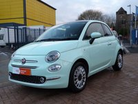 USED 2016 16 FIAT 500 1.2 LOUNGE 3d  SAT NAV ~ PANORAMIC ROOF ~ DAB ~ £20 ROAD TAX ~ VOICE CONTROL ~ ALLOYS ~ BLUETOOTH ~ REVERSE SENSORS