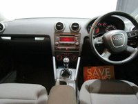 USED 2011 61 AUDI A3 1.6 TDI SE 5d 103 BHP LADY OWNER FULL DEALER HISTORY