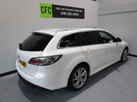 USED 2011 11 MAZDA 6 2.2 D SPORT 5d 180 BHP Full service history, Excellent bodywork, Black Full leather interior - Excellent Condition, Tyre condition Excellent, Metallic White