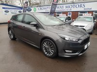 USED 2016 66 FORD FOCUS 1.5 ST-LINE TDCI 5d 118 BHP 0%  FINANCE AVAILABLE ON THIS CAR PLEASE CALL 01204 317705