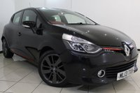 USED 2013 13 RENAULT CLIO 1.5 DYNAMIQUE S MEDIANAV ENERGY DCI S/S 5DR 90 BHP SAT NAVIGATION + BLUETOOTH + CRUISE CONTROL + MULTI FUNCTION WHEEL + 17 INCH ALLOY WHEELS