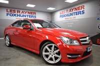 USED 2012 62 MERCEDES-BENZ C CLASS 2.1 C250 CDI BLUEEFFICIENCY AMG SPORT 2d AUTO 204 BHP Cruise control, Park Sensors, Half Leather, Bluetooth, Xenons